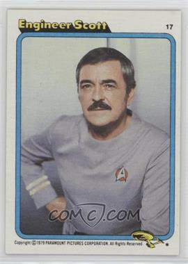 1979 Topps Star Trek: The Motion Picture #17 - Engineer Scott