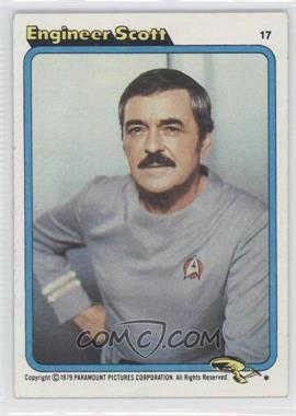 1979 Topps Star Trek: The Motion Picture #17 - [Missing]