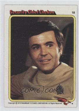 1979 Topps Star Trek: The Motion Picture #18 - [Missing]