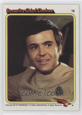 1979 Topps Star Trek: The Motion Picture #18 - Security Chief Chekov
