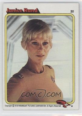 1979 Topps Star Trek: The Motion Picture #20 - [Missing]