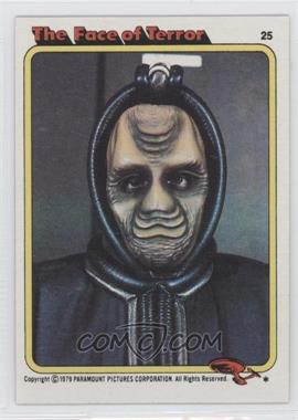 1979 Topps Star Trek: The Motion Picture #25 - The Face of Terror