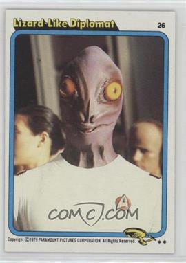1979 Topps Star Trek: The Motion Picture #26 - Lizard Like Diplomat