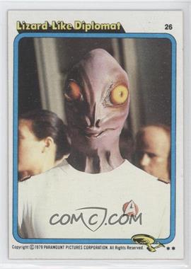 1979 Topps Star Trek: The Motion Picture #26 - Lizard Like Diplomat