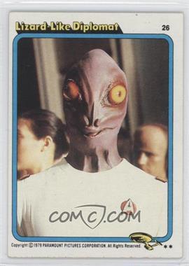 1979 Topps Star Trek: The Motion Picture #26 - [Missing]
