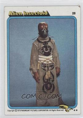 1979 Topps Star Trek: The Motion Picture #28 - Alien Insectoid [Good to VG‑EX]