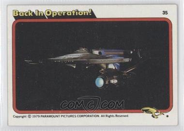 1979 Topps Star Trek: The Motion Picture #35 - [Missing]