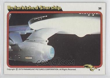 1979 Topps Star Trek: The Motion Picture #36 - Refurbished Starship