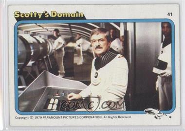 1979 Topps Star Trek: The Motion Picture #41 - [Missing]