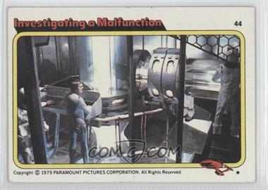 1979 Topps Star Trek: The Motion Picture #44 - Investigating a Malfunction
