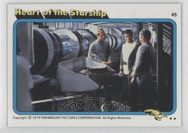 1979 Topps Star Trek: The Motion Picture #45 - [Missing]
