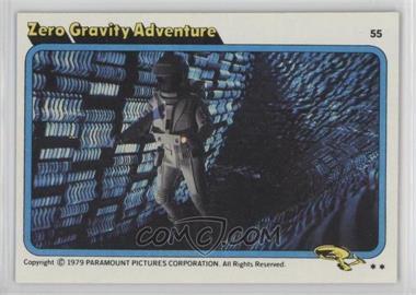 1979 Topps Star Trek: The Motion Picture #55 - Zero Gravity Adventure