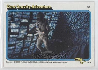 1979 Topps Star Trek: The Motion Picture #55 - Zero Gravity Adventure