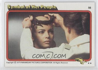 1979 Topps Star Trek: The Motion Picture #56 - Symbol of Her People