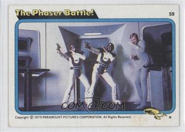 1979 Topps Star Trek: The Motion Picture #59 - The Phaser Battle!