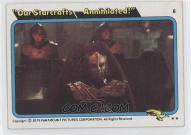 1979 Topps Star Trek: The Motion Picture #6 - [Missing]