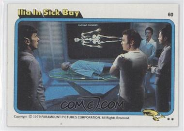 1979 Topps Star Trek: The Motion Picture #60 - Ilia in Sick Bay