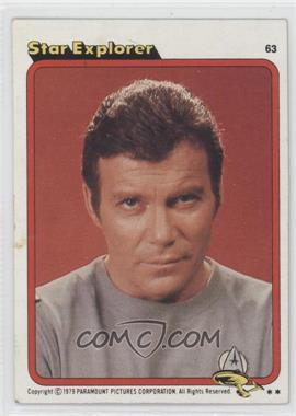1979 Topps Star Trek: The Motion Picture #63 - Star Explorer