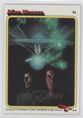 1979 Topps Star Trek: The Motion Picture #64 - Alien Menace