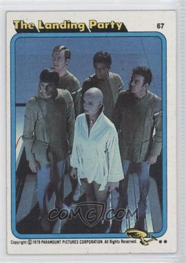 1979 Topps Star Trek: The Motion Picture #67 - The Landing Party