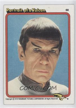 1979 Topps Star Trek: The Motion Picture #68 - Portrait of a Vulcan