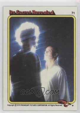 1979 Topps Star Trek: The Motion Picture #71 - Its Secret Revealed