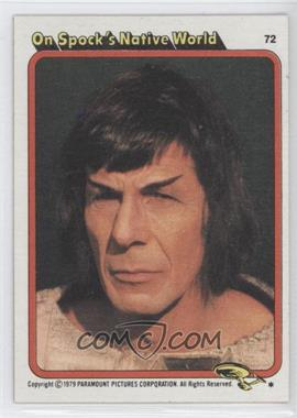 1979 Topps Star Trek: The Motion Picture #72 - On Spock's Native World
