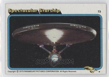 1979 Topps Star Trek: The Motion Picture #73 - Spectacular Starship