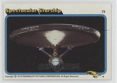 1979 Topps Star Trek: The Motion Picture #73 - Spectacular Starship