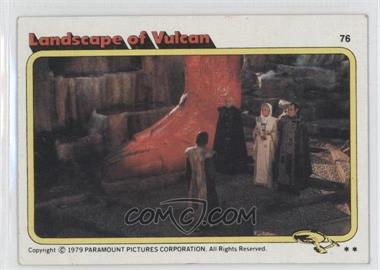 1979 Topps Star Trek: The Motion Picture #76 - Landscape of Vulcan