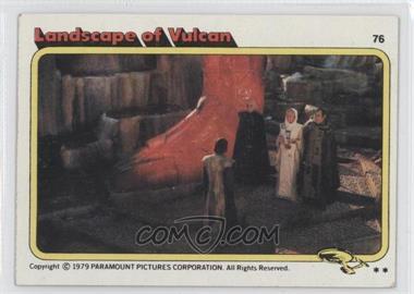 1979 Topps Star Trek: The Motion Picture #76 - [Missing]