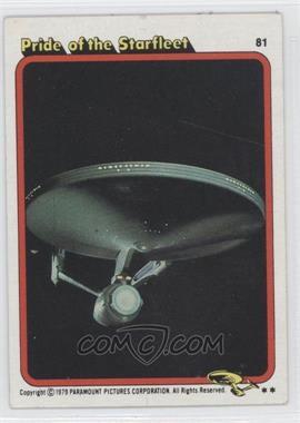 1979 Topps Star Trek: The Motion Picture #81 - [Missing]