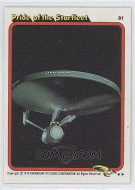 1979 Topps Star Trek: The Motion Picture #81 - Pride of the Starfleet