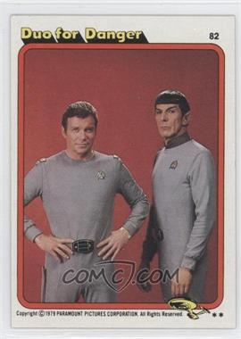 1979 Topps Star Trek: The Motion Picture #82 - Duo for Danger