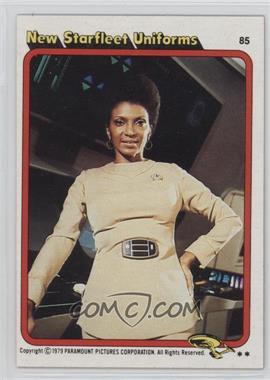 1979 Topps Star Trek: The Motion Picture #85 - New Starfleet Uniforms