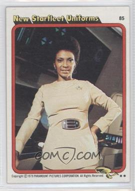 1979 Topps Star Trek: The Motion Picture #85 - New Starfleet Uniforms