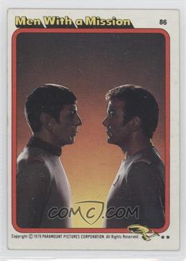 1979 Topps Star Trek: The Motion Picture #86 - Men With a Mission