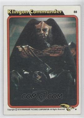1979 Topps Star Trek: The Motion Picture #88 - [Missing]