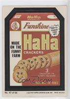 Ha Ha Crackers