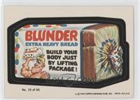 Blunder Bread