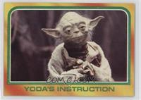 Yoda's Instruction