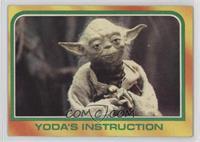 Yoda's Instruction [GoodtoVG‑EX]