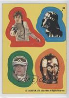 Luke Skywalker, Darth Vader, Luke Skywalker, C-3PO [GoodtoVG‑…