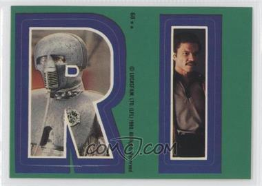 1980 Topps Star Wars: The Empire Strikes Back Stickers #68 - R I