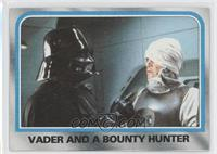 Vader and a bounty hunter [Good to VG‑EX]