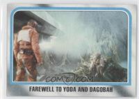 Farewell to Yoda and Dagobah
