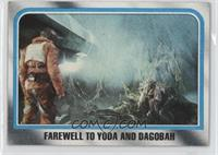 Farewell to Yoda and Dagobah