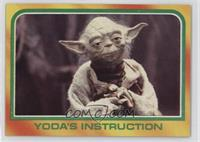 Yoda's Instruction