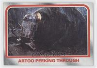 Artoo peeking through [Good to VG‑EX]