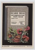 Scare Deal Notebook